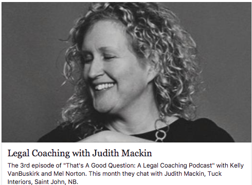Listen In To This Weeks Podcast With Tucks Owner Judith Mackin In