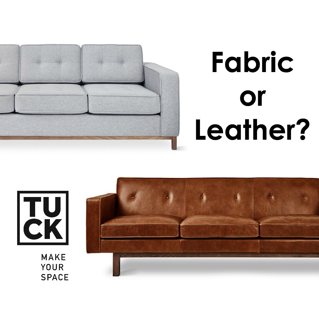 24 jul fabric or leather advice tips from tuck studio